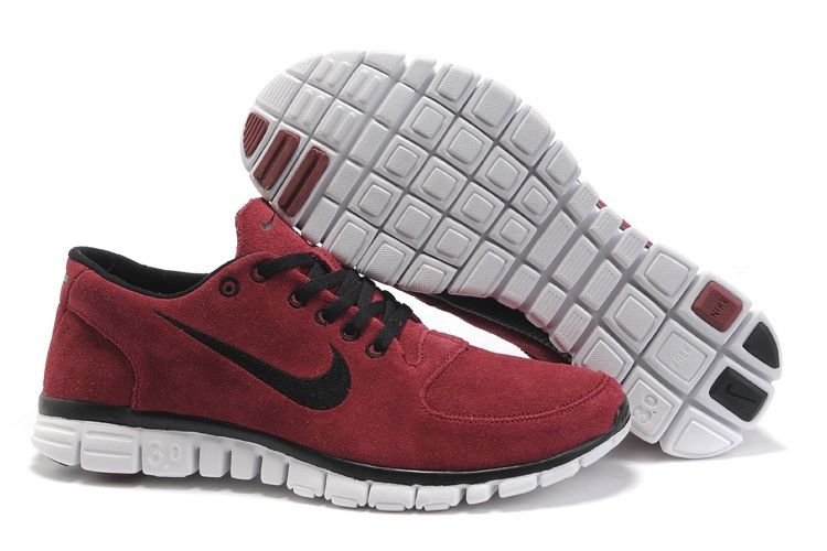 Nike Free 3.0 Hommes Wine Red Chaussure