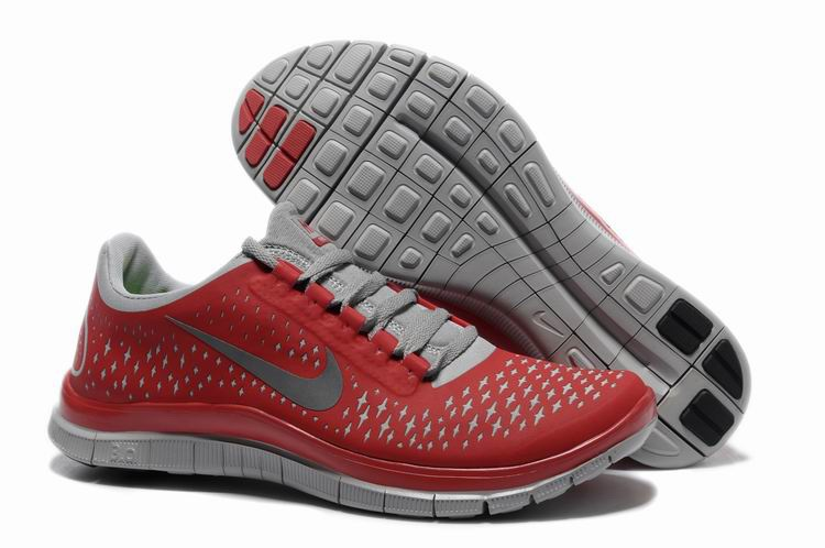 Nike Free 3.0 V4 Hommes gray Red Light