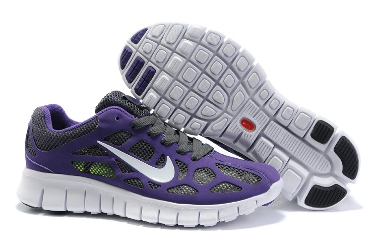 Nike Free 3.0 Femmes Noir Violet Blanc Chaussures