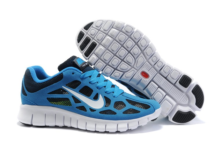 Nike Free 3.0 Femmes Chaussures bleues noires