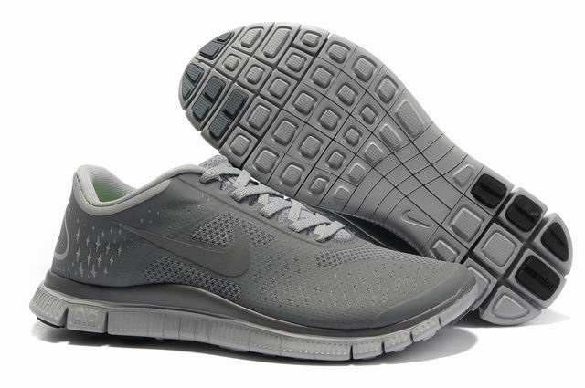 Nike Free 4.0 V2 Chaussures de course gray