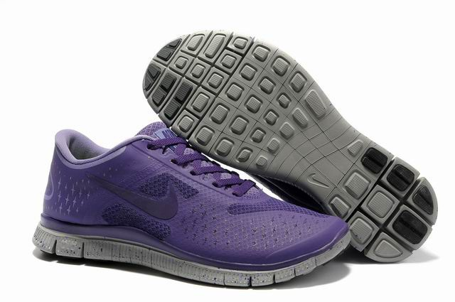 Nike Free 4.0 V2 Violet gray Chaussures de course