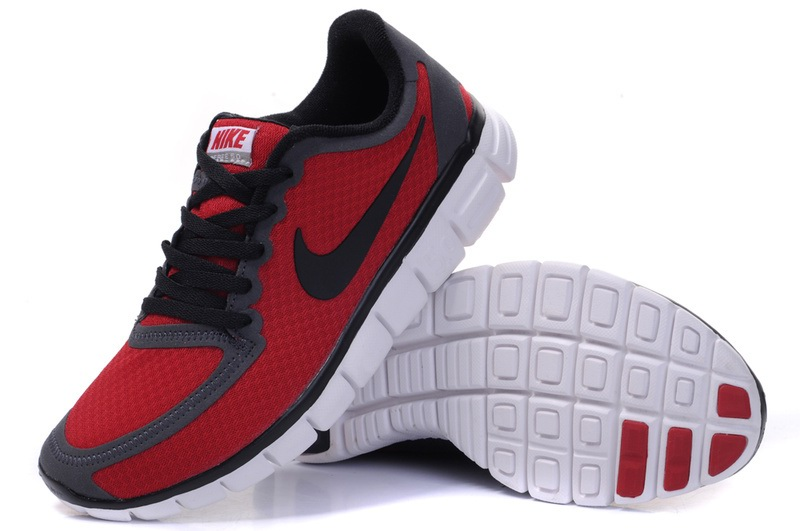 Nike Free 5.0 V4 Red Noir Chaussure