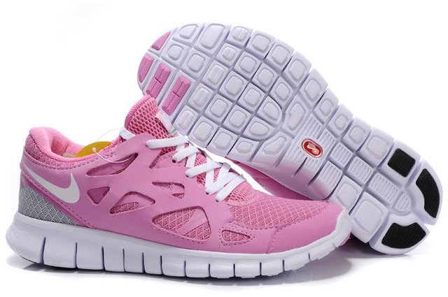 Nike Free Run 2.0 Femmes Liight rose