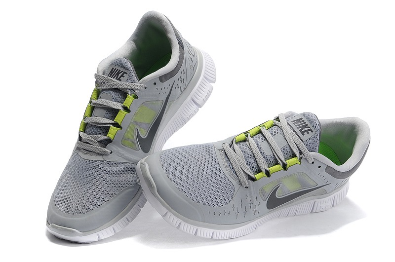 Nike Free Run 3 Hommes gray Chaussures de course