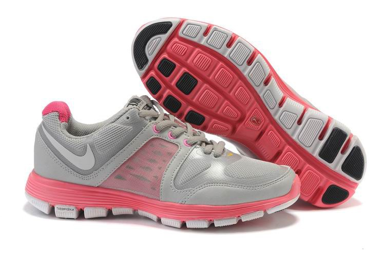 Nike Free Run Femmes gray Rose