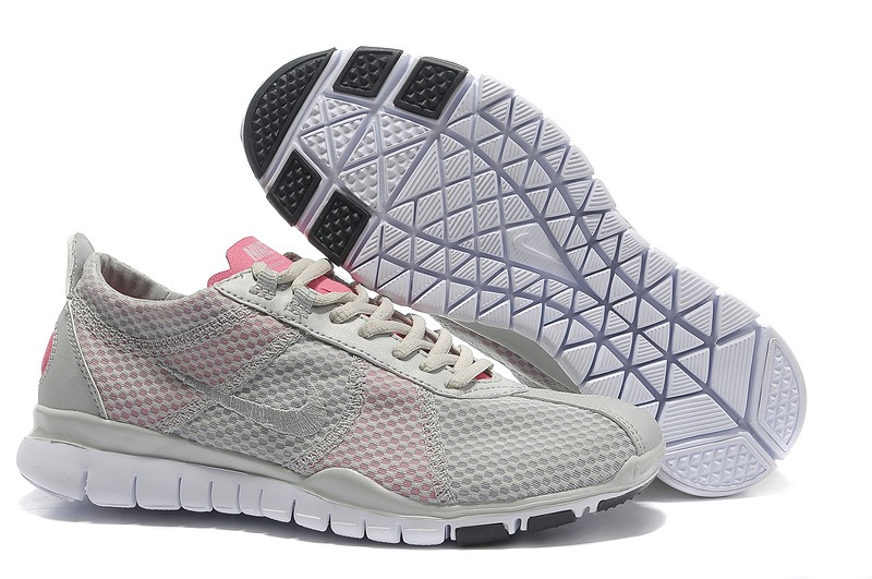 Nike Free TR Twist femmes gray rose