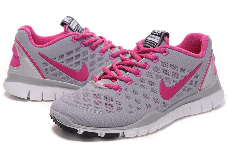 Nike Free TR Fit Femmes gray Rouge