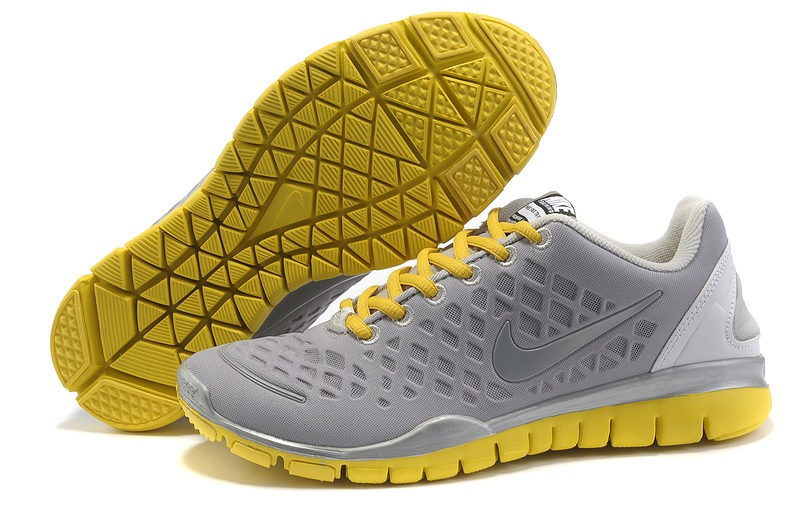 Nike Free TR Fit Femmes gray clair Jaune