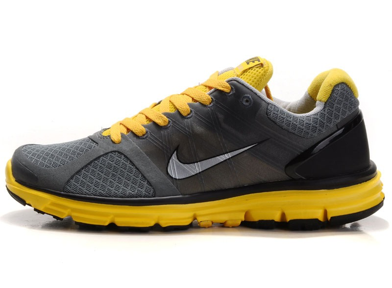 Nike Lunar Glide 5 Jaune Charcoal Chaussures