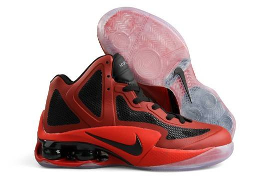 Nike Air Hypershox 2011 Men Chaussure Noir Red en vente