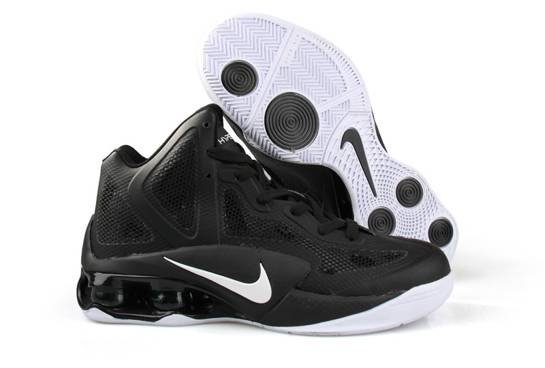 Nike Air Hypershox 2011 Men Chaussure Noir blanc en vente