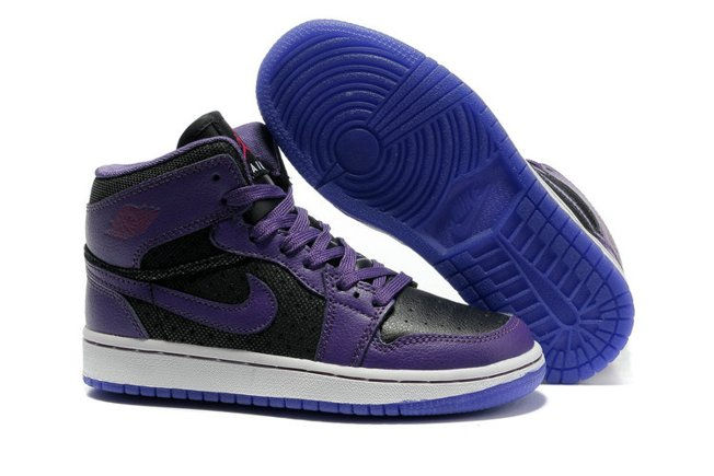 Nike Air Jordan 1 I Phat Femme Chaussure Purple Discount Sale