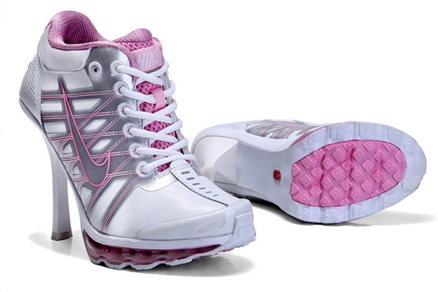 Nike Air Max 2012 Heels Chaussure blanc Pink Sexy Charming