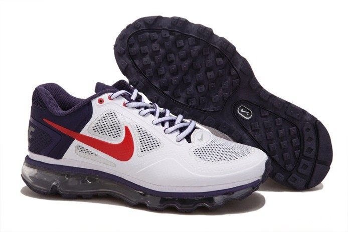 Nike Air Max 2013 Trainer 1.3 Homme Chaussure blanc Purple pas cher Sale