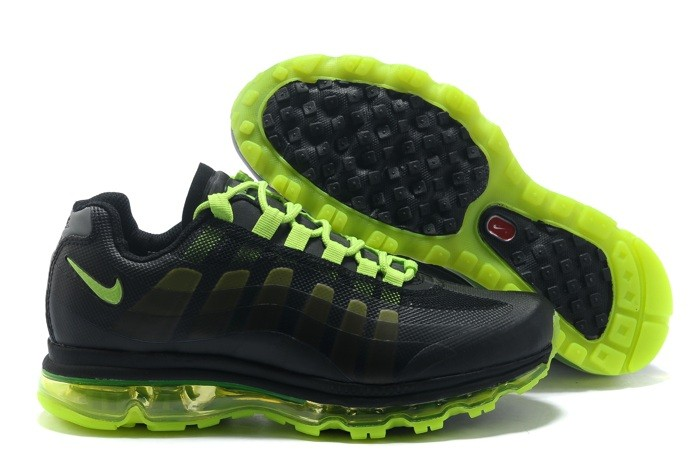 Nike Air Max 95 360 Homme Chaussure Noir Green Outlet