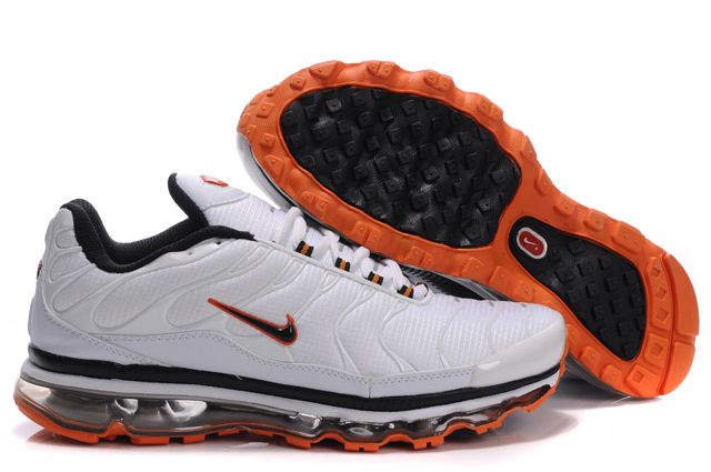 Nike Air Max TN Hommes Chaussures Amorti blanc orange