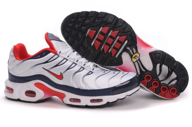 Nike Air Max TN I Homme Chaussure Flaring blanc red Noir