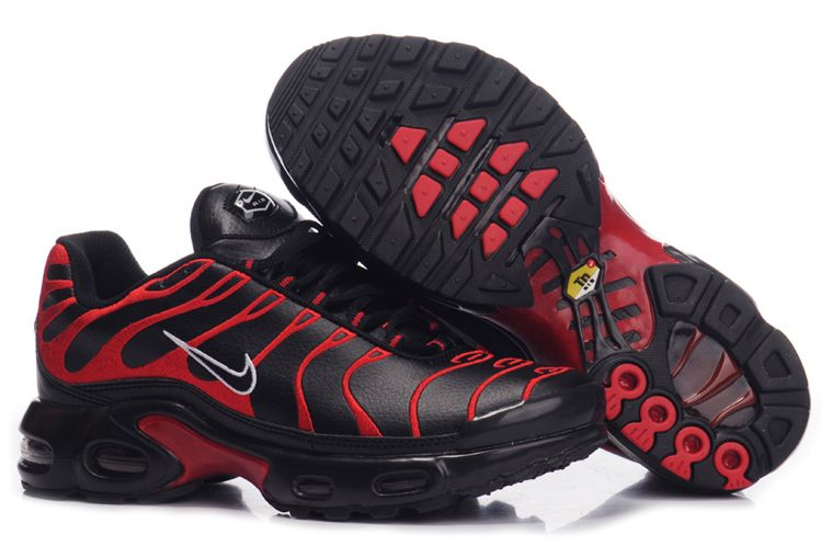 Nike Air Max TN I Homme Chaussure Graceful Noir red blanc
