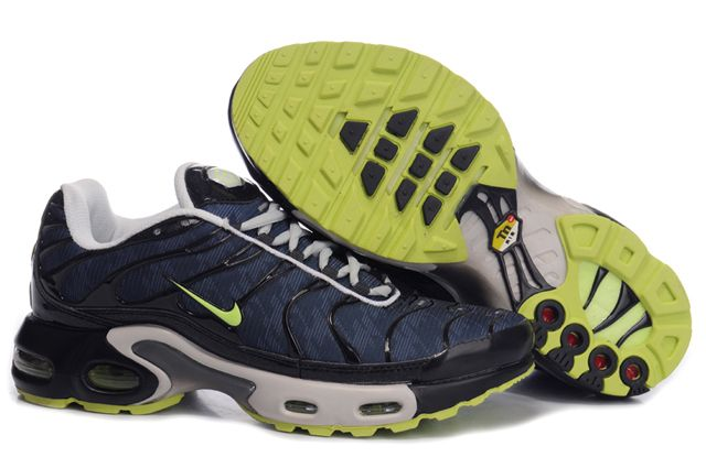 Nike Air Max TN I Homme Chaussure darkBleu blanc green