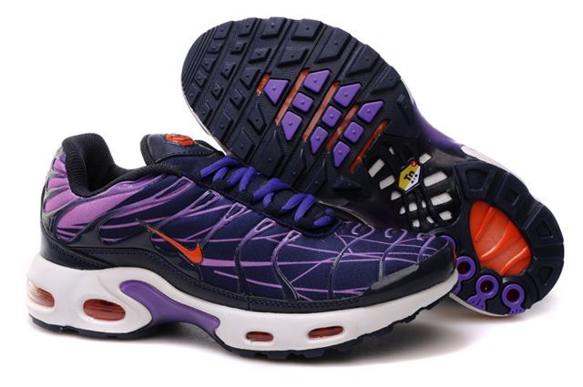 Nike Air Max TN I Chaussures Hommes violet rouge noir