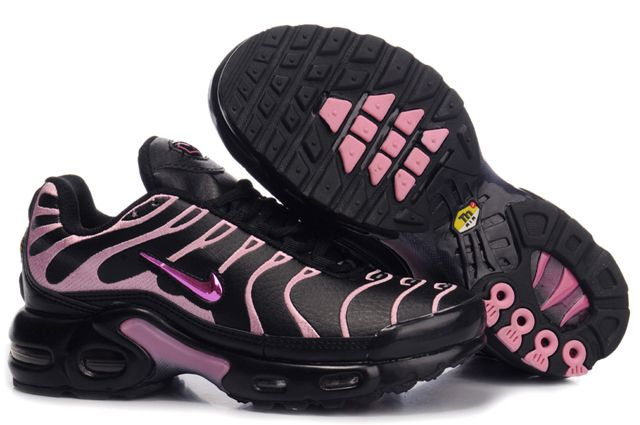 Nike Air Max TN Femme Chaussure Noir light red