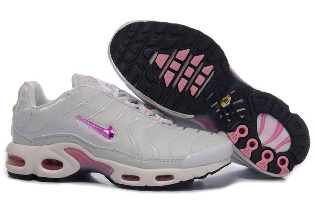 Nike Air Max TN Femme Chaussure greyishblanc deep red