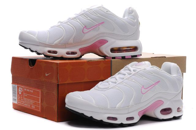 Nike Air Max TN Femme Chaussure blanc red