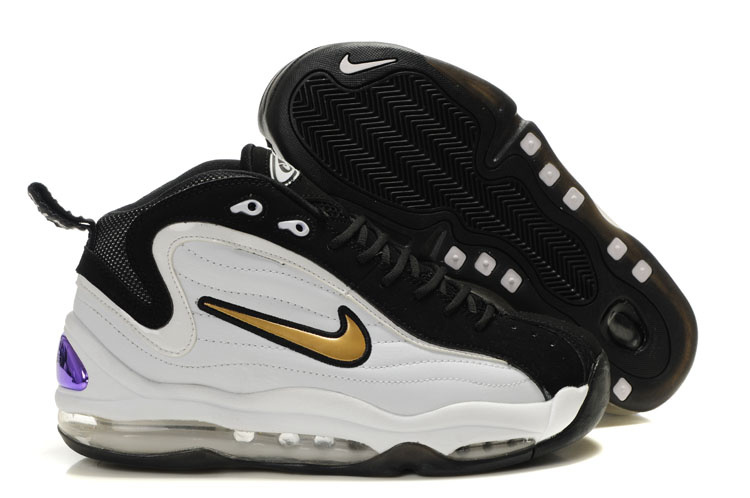 Nike Air Total Max Uptempo Homme Chaussure Noir blanc
