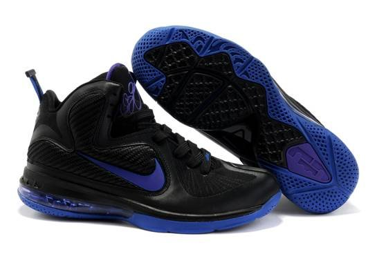 Nike Zoom Lebron James Solider 9 IX Air Bottom Noir Bleu Gros