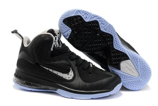 Nike Zoom Lebron James Solider 9 IX Air Bottom Noir blanc Gros