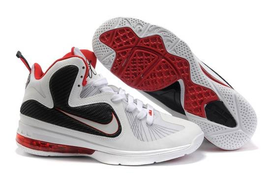 Nike Zoom Lebron James Solider 9 IX Air Bottom blanc Noir Red Gros