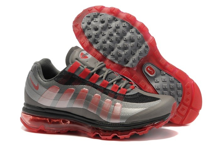 en ligne Buy Nike Air Max 95 360 Homme Chaussure Grey Red