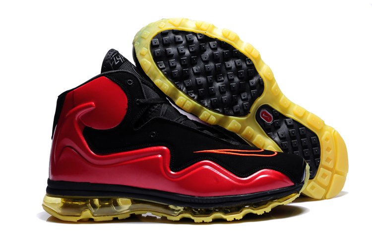 Outlet Nike Air Max Flyposite Homme Chaussure Red Noir