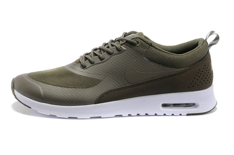 Nike Air Max Chaussures britanniques Thea Hommes Olive