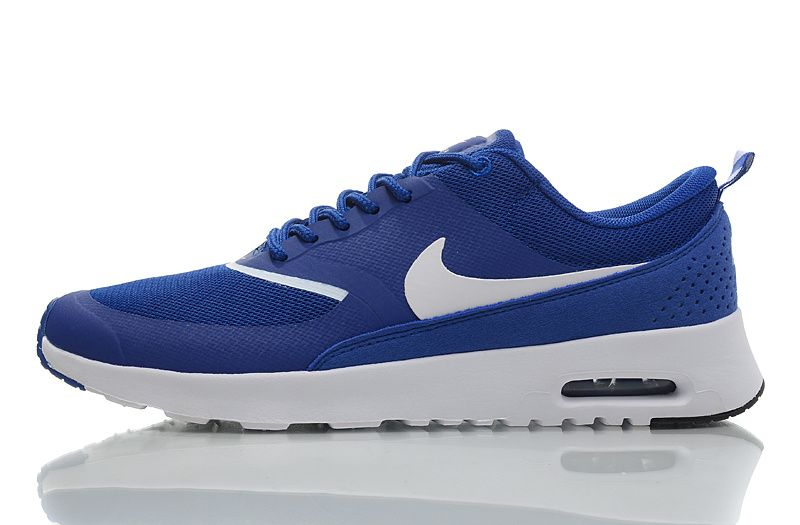 Nike Air Max Thea Hommes Baskets Royal / Blanc
