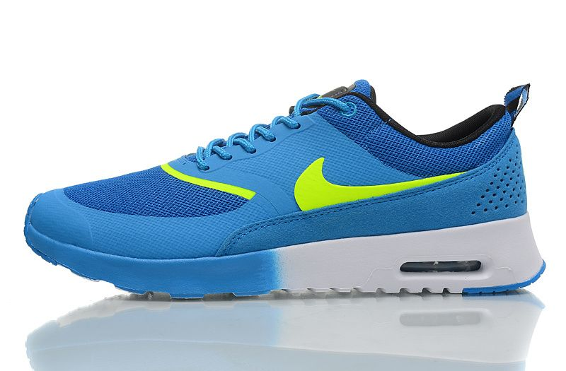 Nike Air Max Thea Hommes formateurs Blue Sky / Volt