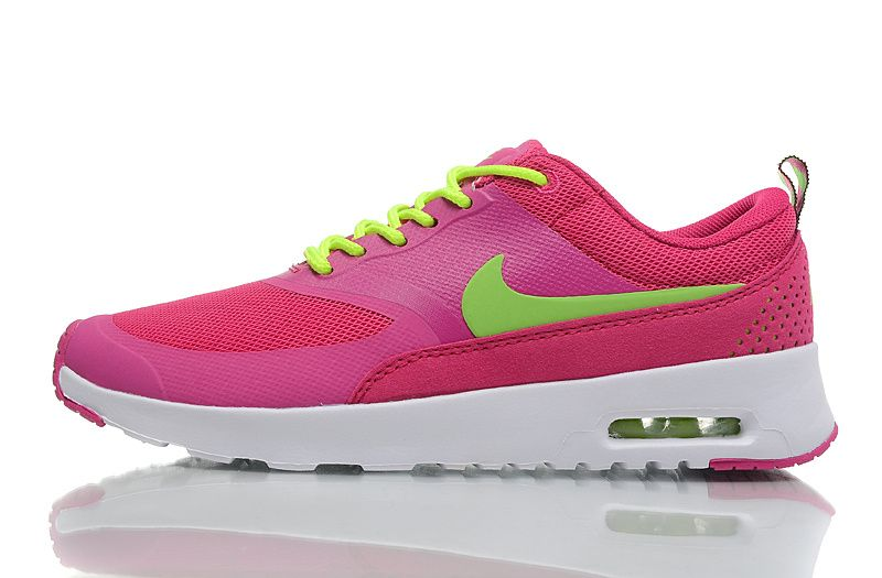 Nike Air Max Thea Femmes formateurs Fusion rose / Volt