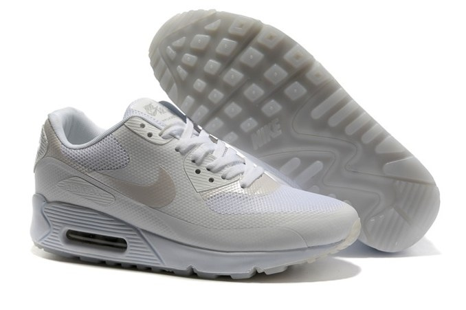 To Buy Air Max 90 Hyperfuse Prm Femme Chaussure For Sale Grey blanc