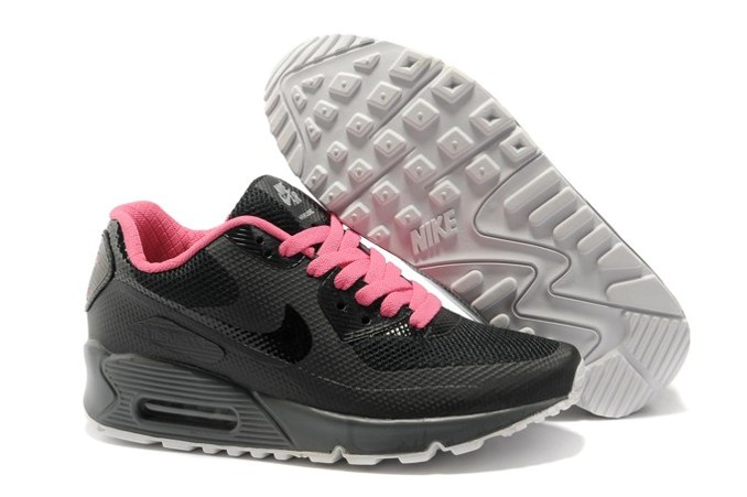 To Buy Air Max 90 Hyperfuse Prm Femme Chaussure For Sale blanc Bleu Noir Pink
