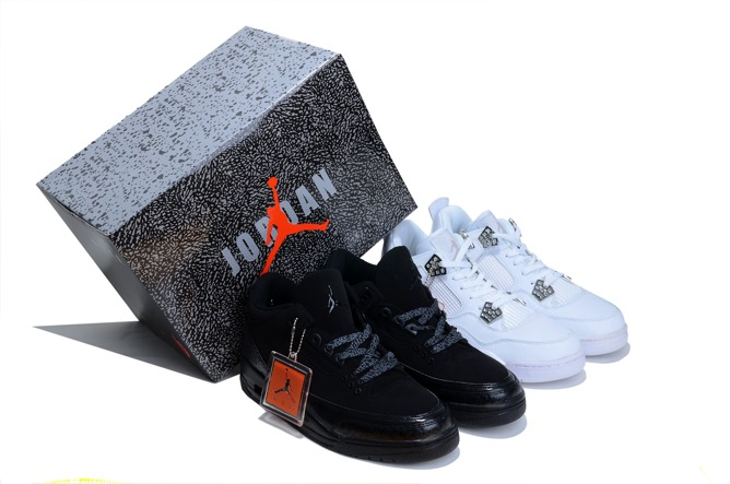 To Buy J3 And J4 Limited Homme Chaussure en ligne pas cher Noir blanc