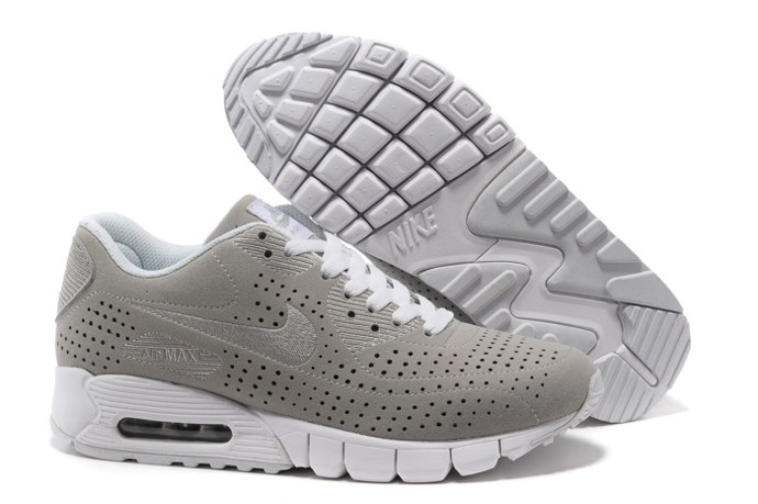 To Buy Nike Air Max 90 Current Moire Men Chaussure en vente Grey blanc