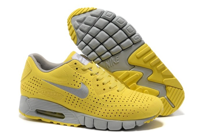 To Buy Nike Air Max 90 Current Moire Men Chaussure en vente Grey Yellow