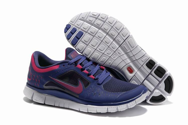 the latest 75434 3f0d6 ... pas cher jsatt reduction zc11hds9p 858ec f44c4  new zealand femmes nike  free run 3 bleu gray violet fa764 af85a