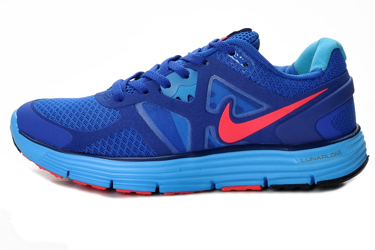Nike Lunarelite 3 Chaussures Bleu Royal orange