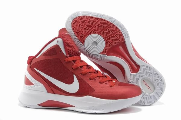 Nike Zoom Hyperdunk Blake Griffin Chaussures Basketball Femme Rouge/Blanc