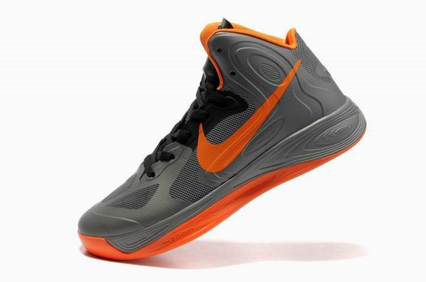Zoom Hyperdunk 2011 Jeremy Lin Chaussures gray/Orange